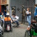 Gruppe der jungen Erwachsenen in Köln