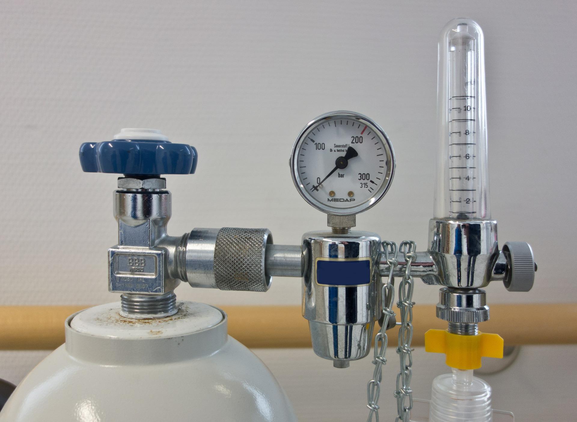 Sauerstoffflasche (Symbolbild)