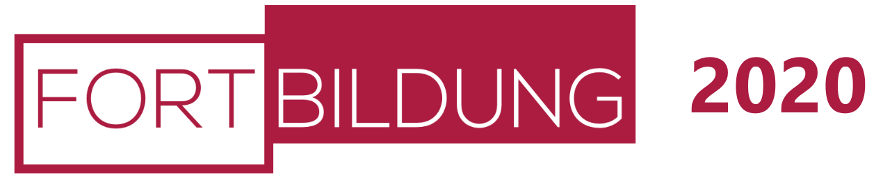 Fortbildung 2020 Logo
