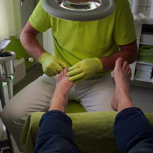 Fußpflege - Beispielbild