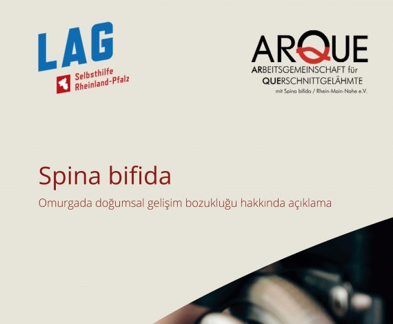 Türkçe dilinde spina bifida broşürü